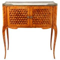 Louis XVI Style Side Cabinet