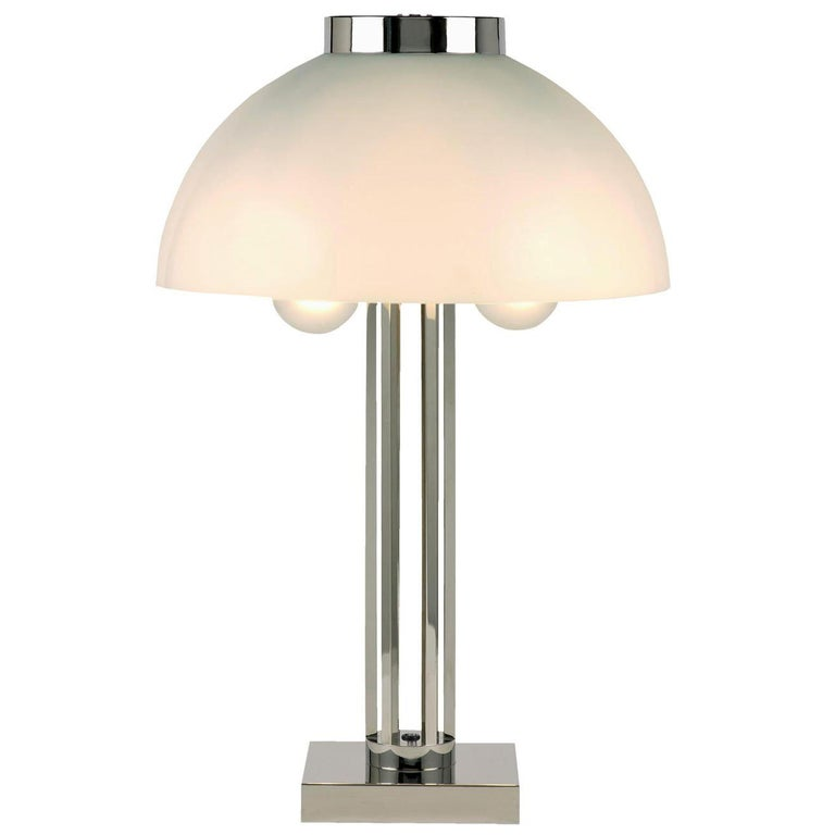 Josef Hoffmann for Wiener Werkstaette Table Lamp 1903 Edition by Woka Lamps