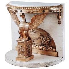 19th Century Empire Console Table