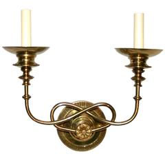 Set of Four Moderne Style Sconces