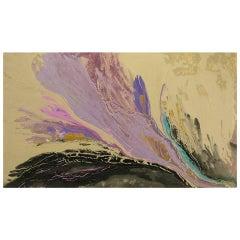 "Christine Alfery Acrylic Abstract, ""Born by the Sea"""