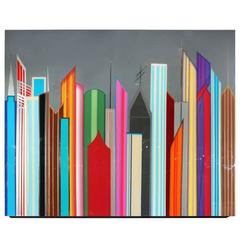 "Stylized Mauro Oliveira Artwork, ""Futuristica"""