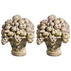 Pair of 19th Century Terracotta Flower Pots