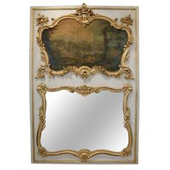 18th Century Louis XV Trumeau with Painting