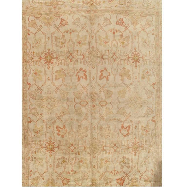 Oushak rug, 1910