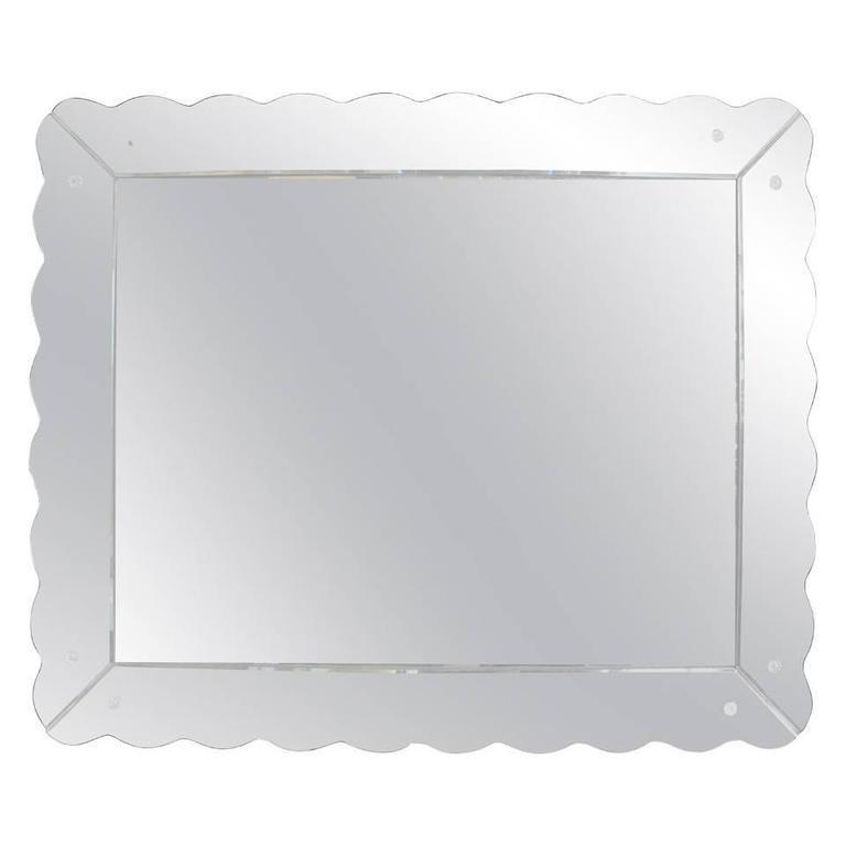 Venetian Styled Mirror, 1950s
