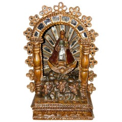 Spanish Colonial Giltwood Altar