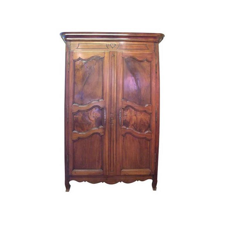 Early 19th Century French Walnut Armoire