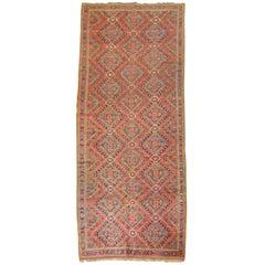Rustic Gallery SizeAntique Beshir Carpet