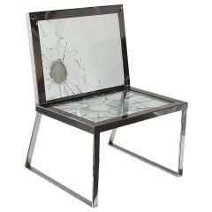Cadeira Blindada/Bullet Chair by Alê Jordão