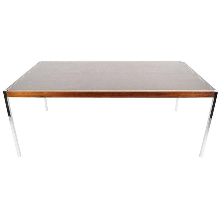Richard Schultz For Knoll Dining Table Or Desk At 1stdibs
