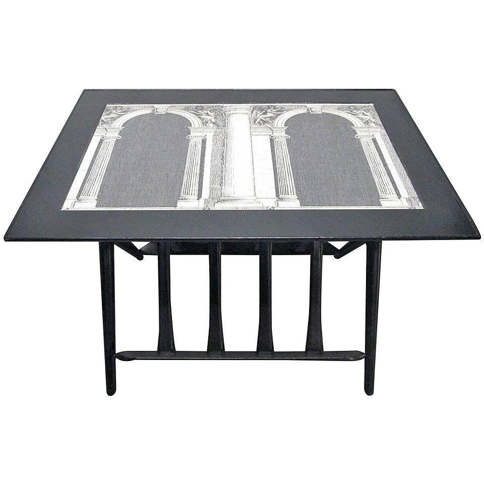Architettura Table By Piero Fornasetti For Sale At 1stdibs