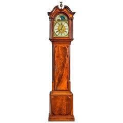 18th Century Mahogany Longcase Clock by John Parker of Liverpool