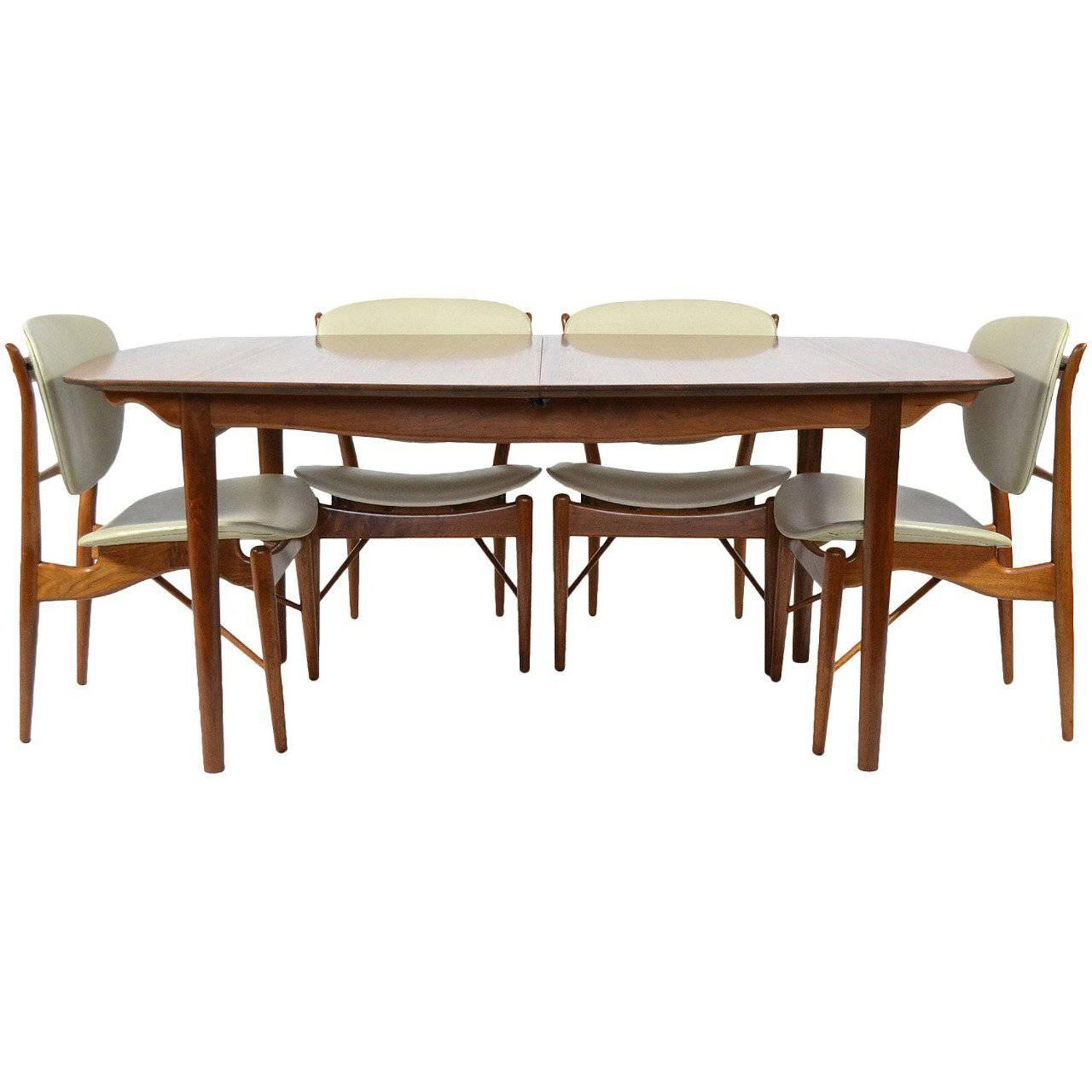 art nouveau mahogany dining table and 12 chairs by paul a dumas