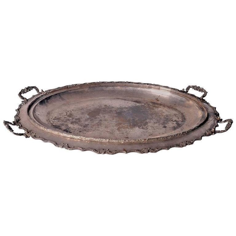 Monumental French Serving Platter