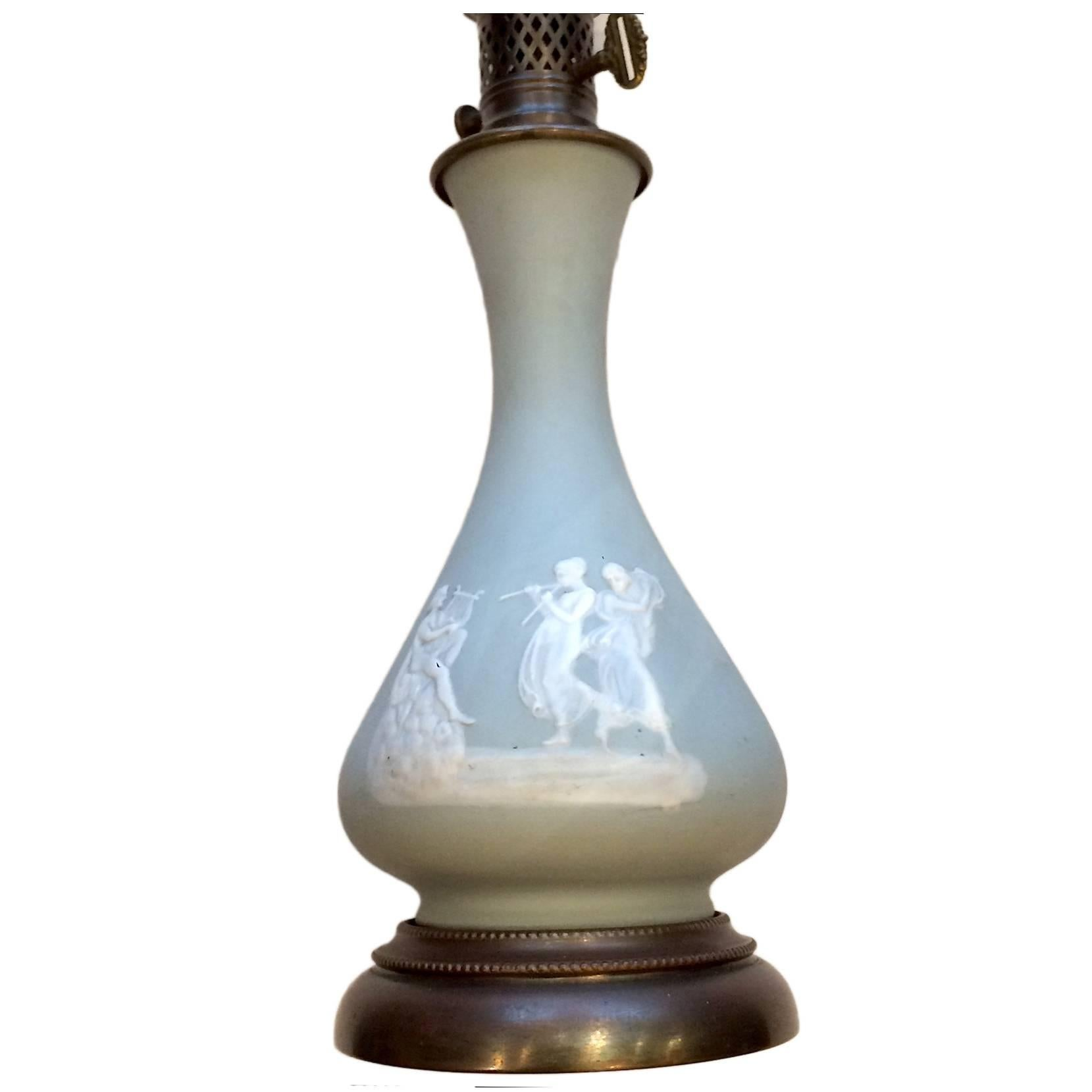 French Porcelain Table Lamp