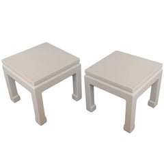 Chinese Modern End Tables
