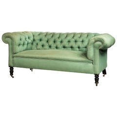 Edwardian Period Chesterfield Sofa