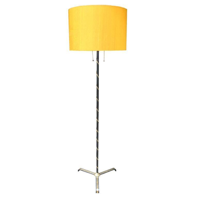 French Modernist Floor Lamp