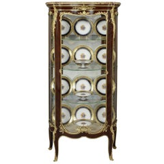 Louis XV Style Vitrine by François Linke, French, circa 1900