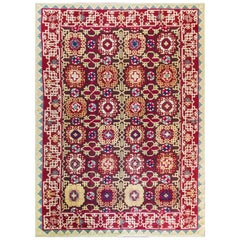 Antique Savoriness English Carpet, 8' x 11'