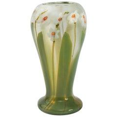 "Tiffany Studios New York Glass ""Paperweight"" Vase"
