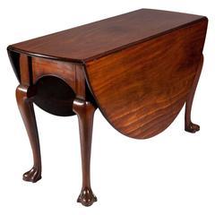 George II Mahogany Gate-Leg Drop-Leaf Dining Table