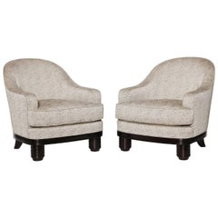 Paul Follot Pair of Armchairs, France, C. 1927