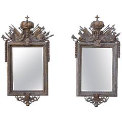 French Louis XIV Style Mirrors