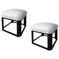Pair of Art Deco Stools, Possibly of the Period