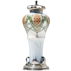 19th Century Imperial Winter Vase D'aiseray by Sèvres