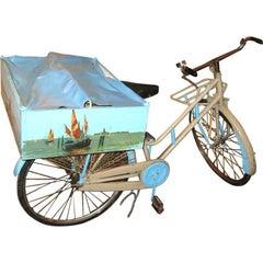 Mobile Fish Market on the Bicycle Trarovi Bicicletta