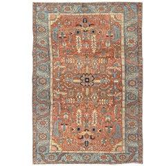 Antique Persian Heriz Goravan Rug