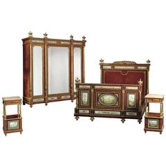 Porcelain Mounted Bedroom Set