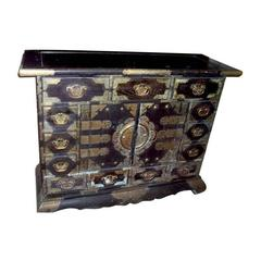 Chinese Cabinet with Bronze Mounts