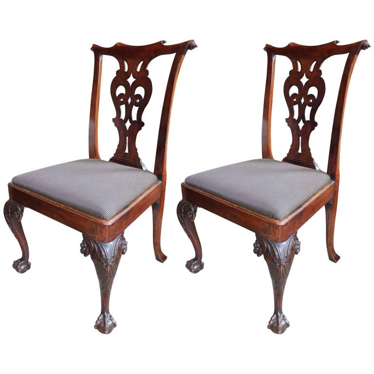 Pair Of 18th Century Chairs At 1stdibs