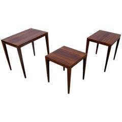 Severin Hansen Nesting Rosewood Tables