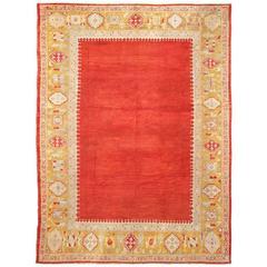 Antique Turkish Ushak 'Oushak' Carpet