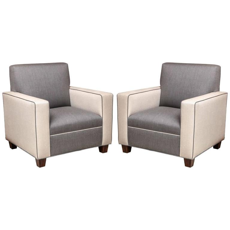 Pair of Mid-Century Modern Chairs by Arlene Angard Collection
