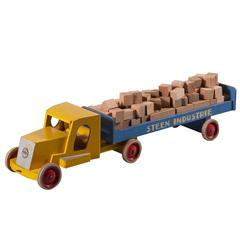 "ADO and Ko Verzuu No. 2 ""Steen Industrie Truck"" in Wood and Metal, circa 1950s"