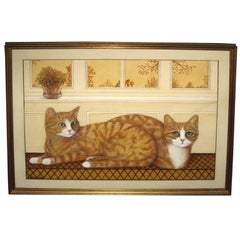 Oil Painting of Cats by Kenney