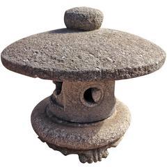 "Japanese Lantern, Antique Broad Roof ""Tamate Oki-Doro"""