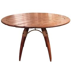 Palm Wood Dining Table