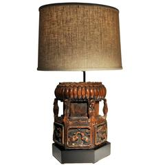 Chinese Architectural Fragment Lamp