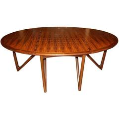 Dining Table Kurt Östevig for Jason Möbler, Denmark, 1950s