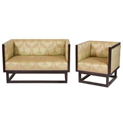 Art Deco Settee and Bergere