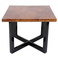 Leaf Motif Coffee Table, End Table