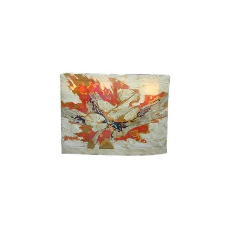 Large Modern French Tapestry by J.L Viard