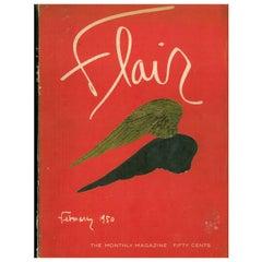 Flair Magazine Complete Set of 12 Magazines, February 1950-January 1951