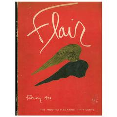 Flair Magazine Complete Set of 12 Magazines, February 1950-January 1951